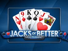 Бесплатный игровой автомат Jacks Or Better by Playtech